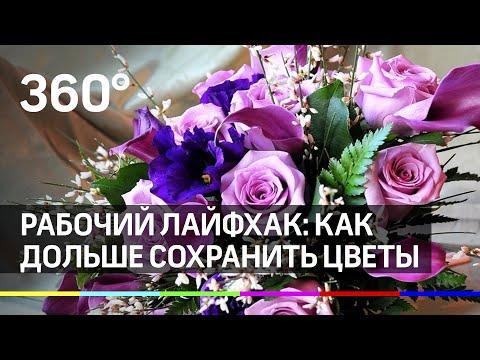 Рабочий лайфхак: как дольше сохранить цветы