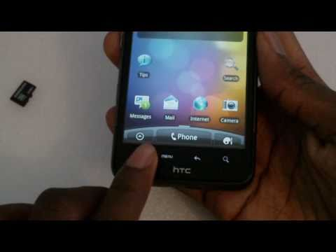 HTC Desire HD unboxing + First Boot