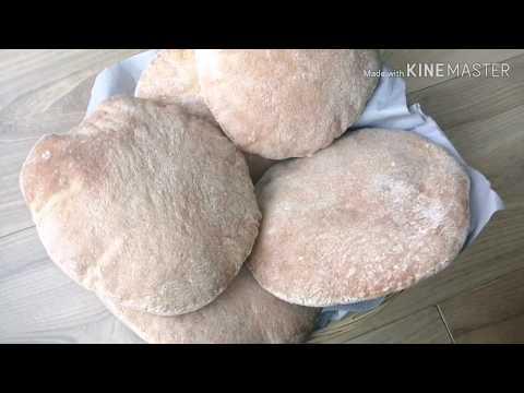 pain-à-la-farine-de-blé-complet,-très-bon-et-très-leger😍😍😍