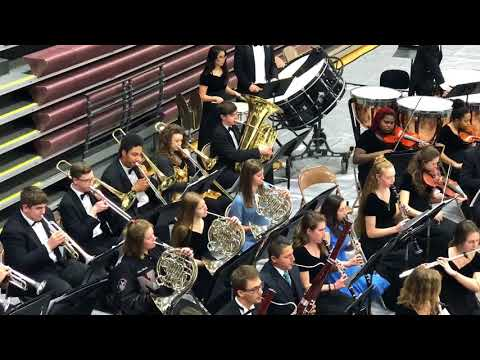 2018 Lees Summit North High School Symphony orchestra strings festival