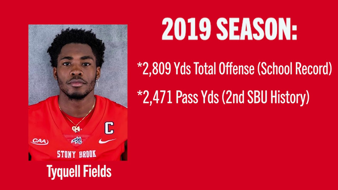 Tyquell Fields,Stony Brook Football