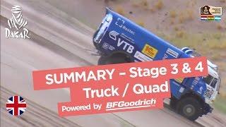 Stage 3 & 4 Summary - Quad/Truck - Dakar 2017(Summary of Quad category : WALTER NOSIGLIA (MECTEAM NOSIGLIA) won the stage (San Salvador de Jujuy / Tupiza) in front of SERGEY KARYAKIN ..., 2017-01-06T17:28:32.000Z)