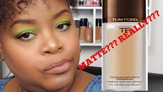 Hi there... Its Chris here with a first impression of the Tom Ford Soft Matte foundation (color 9.5 Warm Almond). I'm new to YouTube and welcome you to my ...