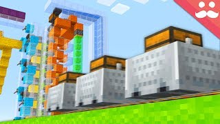 Making a MOBILE Sorting System in Minecraft