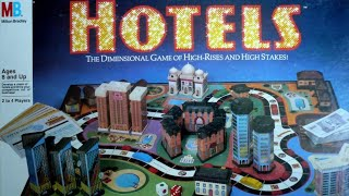 Ep 32: Hotels Board Game Review (Milton Bradley 1987)