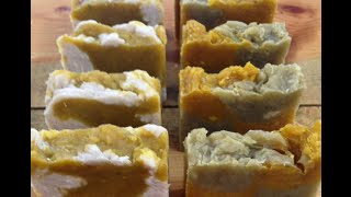 How to make Organic Cucumber, Carrot and Salt Soap with Recipe