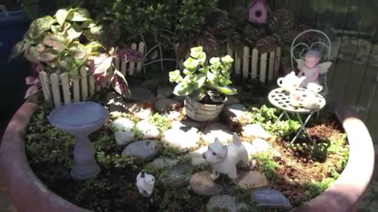 M And Nursery Miniature Fairy Gardens