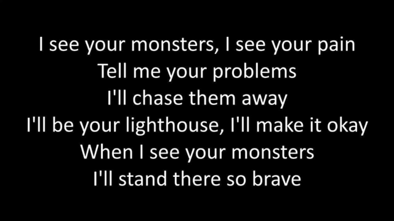 Timeflies Monsters Ft Katie Sky Lyrics Youtube