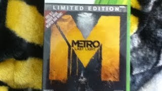 Metro: Last Light Limited Edition Early Unboxing