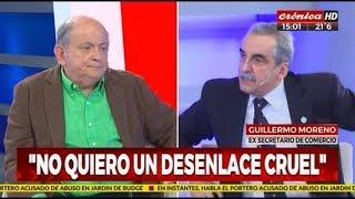 Guillermo Moreno con Chiche Gelblung 26/10/18