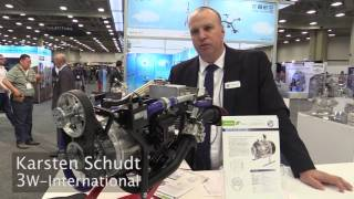 Drone Engine Technology at AUVSI