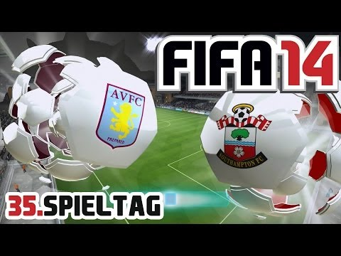 Let's Play FIFA 14 #035 - Aston Villa FC - Southampton FC