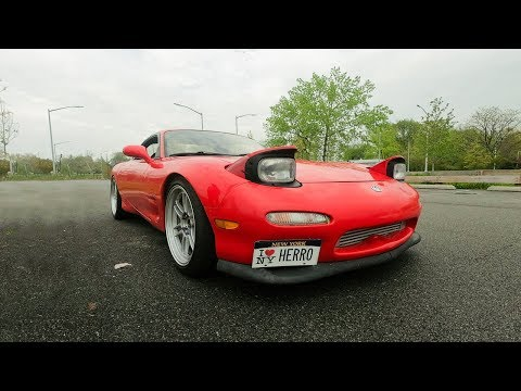 SUNs XXX HP EFR8374 TWINSCROLL Mazda RX7 - REVIEW