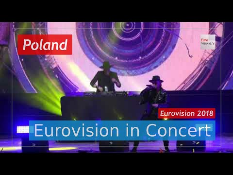 Poland Eurovision 2018 Live: Gromee feat. Lukas Meijer - Light Me Up - Eurovision in Concert