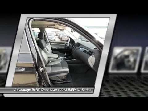 2013 BMW X3 Series at Advantage BMW Clear Lake DL980668