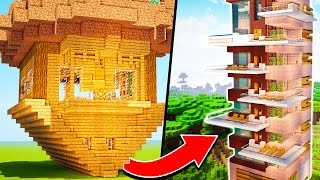 BEST WAYS TO IMPROVE YOUR MINECRAFT HOUSE! ✔
