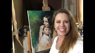 Portrait Painting Demonstration with Jessica Henry
