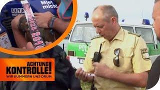 Gefälschte Festivalbändchen! Polizei sucht dreisten Schwarzhändler! | Achtung Kontrolle | kabel eins