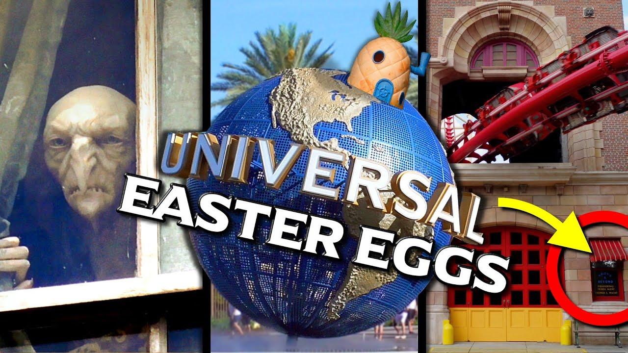 10 Easter Eggs in Universal Studios Florida's Windows