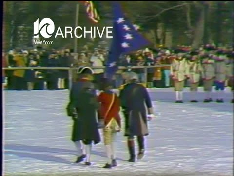 WAVY Archive: 1979 George Washington in Williamsburg