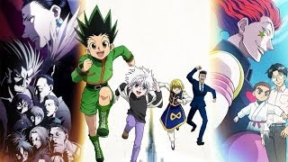 Hunter x Hunter Nen Users Amv