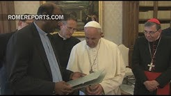 Pope meets with global organization of Calvinist Churches