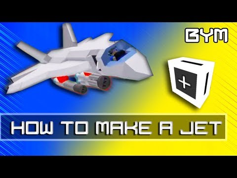 [Roblox BYM] How to build a Jet (Driven with magnets!)