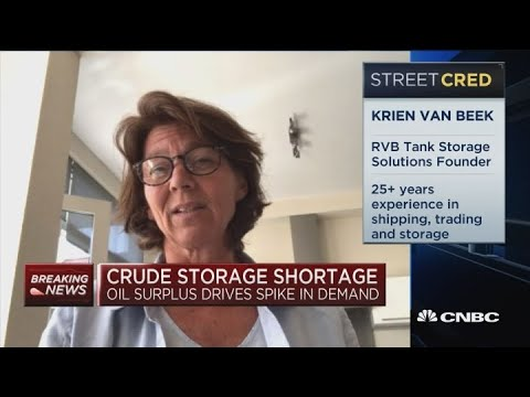 Crude Storage Broker: Remaining global oil storage capacity is maybe less than 1%
