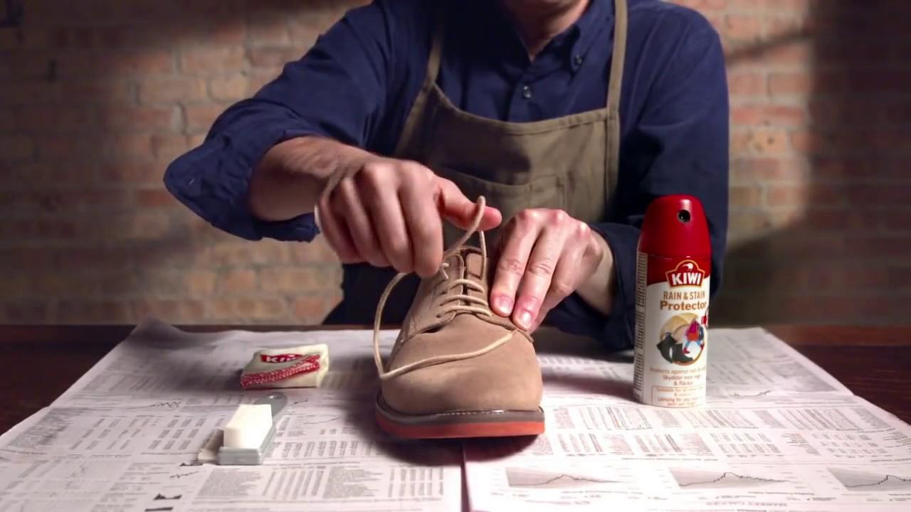 1e7c6ff32591 Imperméabiliser YouTube vos chaussures KIWI Produits chaussures pour F0FqrA