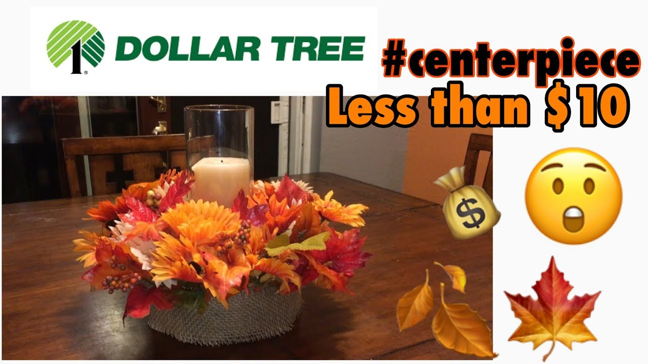 Dollar Tree Diy Fall Centerpiece Under 10