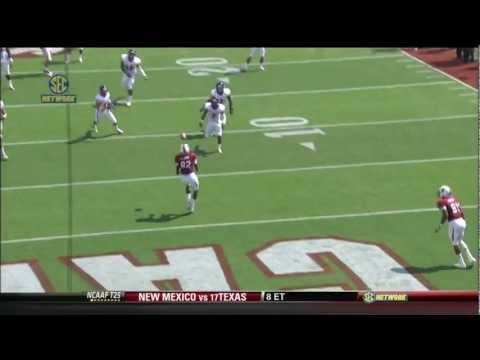2012 USC vs ECU - Ace Sanders TD Pass To DL Moore