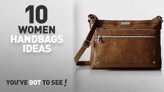 Top 10 Relic Handbag [ Winter 2018 ]: Relic Women's Evie Ew Crossbody Bag, Cognac
