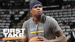 Stephen A. Smith 'Disgusted' with Zach Randolph's Marijuana Arrest | First Take | ESPN thumbnail