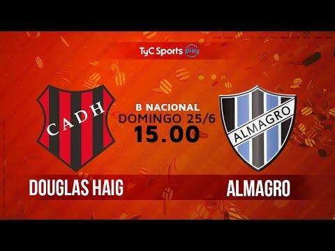 Primera B Nacional: Douglas Haig vs. Almagro | #BNacionalenTyC