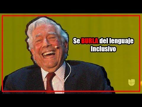 Mario Vargas Llosa Opina Sobre El Lenguaje Inclusivo