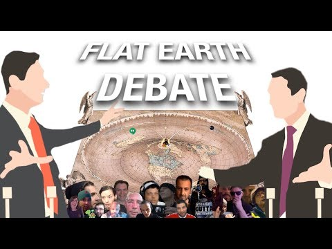 Flat Earth Debate thumbnail