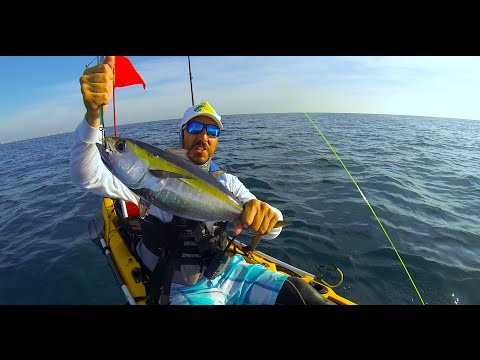 Kayak Fishing, Pompano Beach, Tuna and Almacos…3-22-15