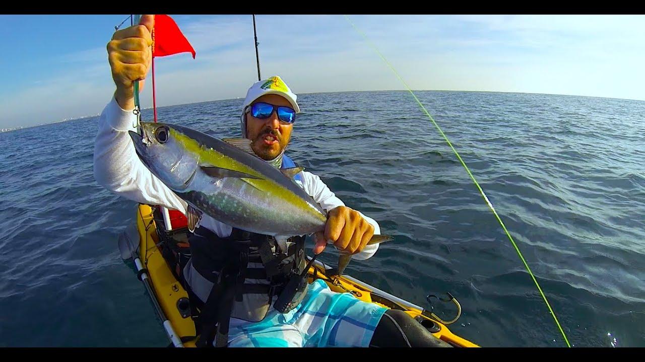 Kayak Fishing Pompano Beach Tuna And Almacos 3 22 15
