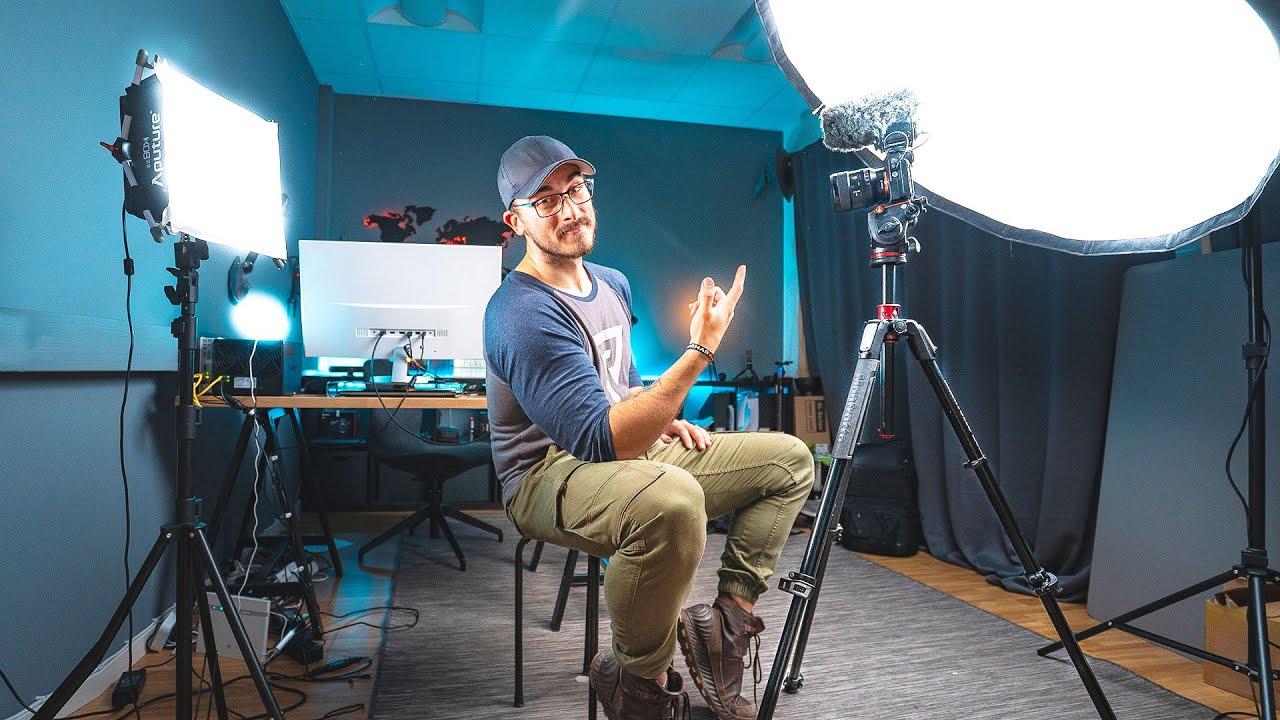 lighting setup for youtube videos