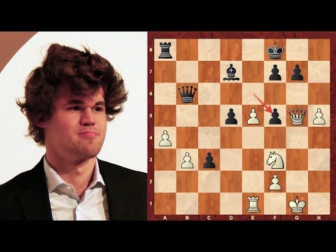 Mega-exciting chess game: World Champion Magnus Carlsen vs  World Junior Champion Jeffery Xiong