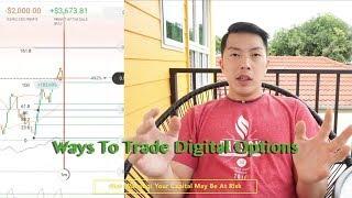 Ways To Trade Digital Options