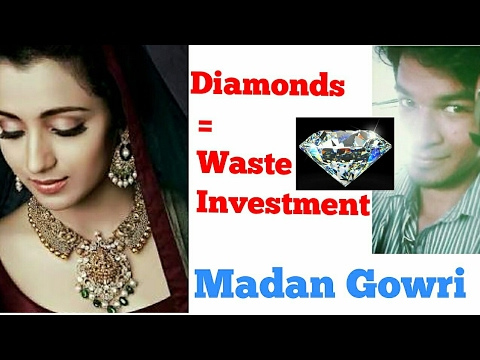 Diamonds = Waste | Madan Gowri | MG