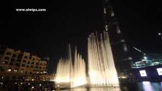 Dubai Fountain -  Lionel Richie - All night long