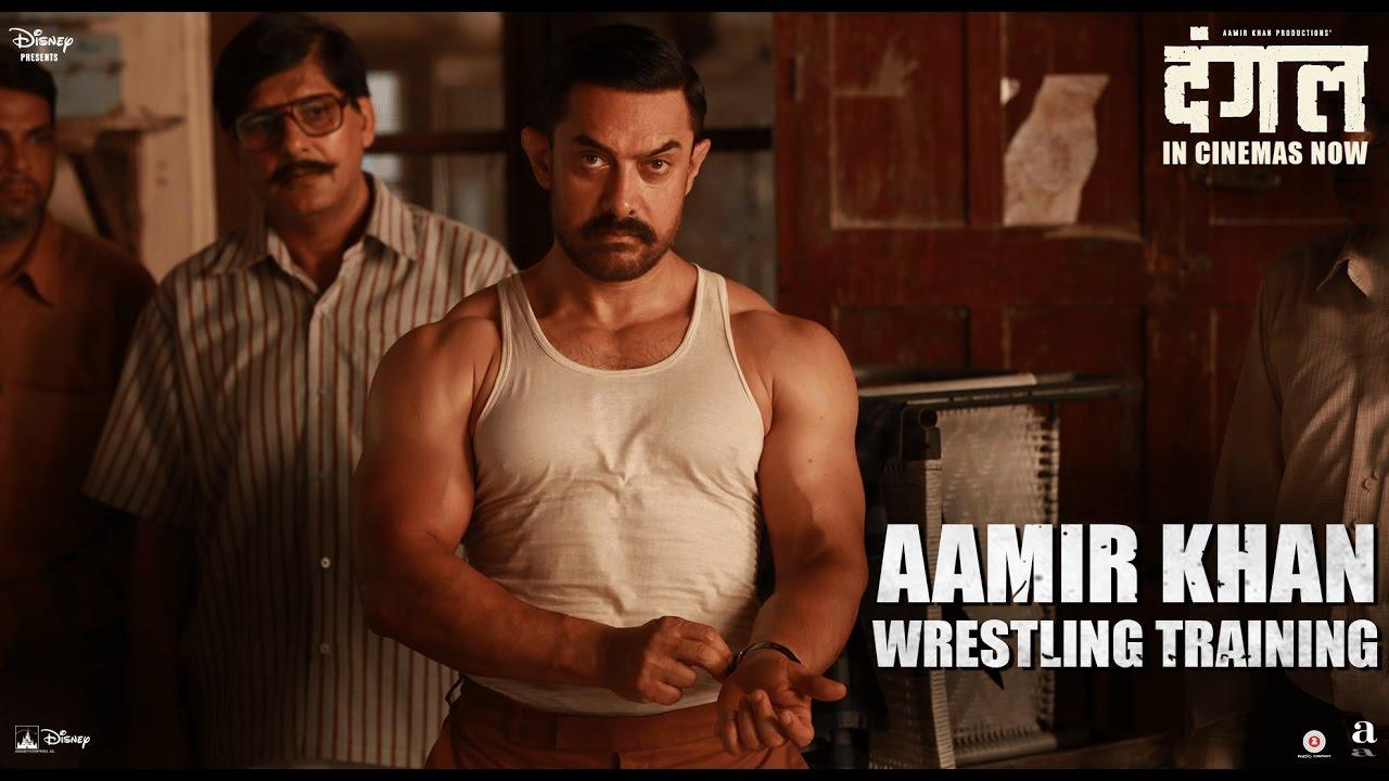 Dangal Aamir Khan Wrestling Training In Cinemas Now Youtube