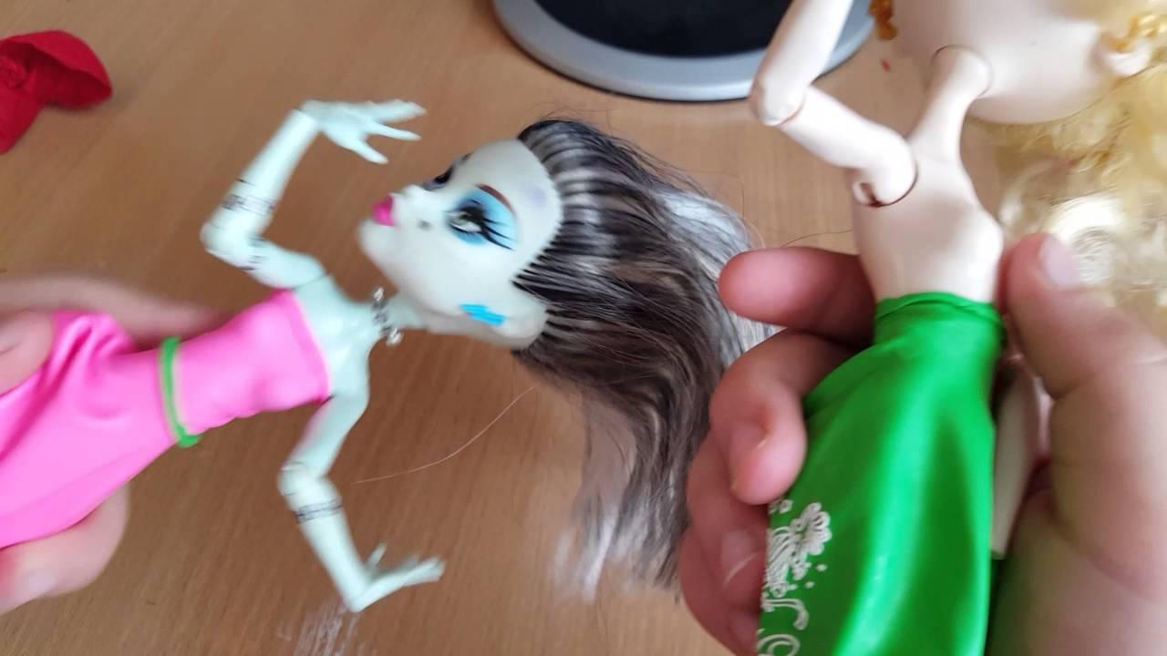 Как сделать купальник для куклы монстер хай из шарика