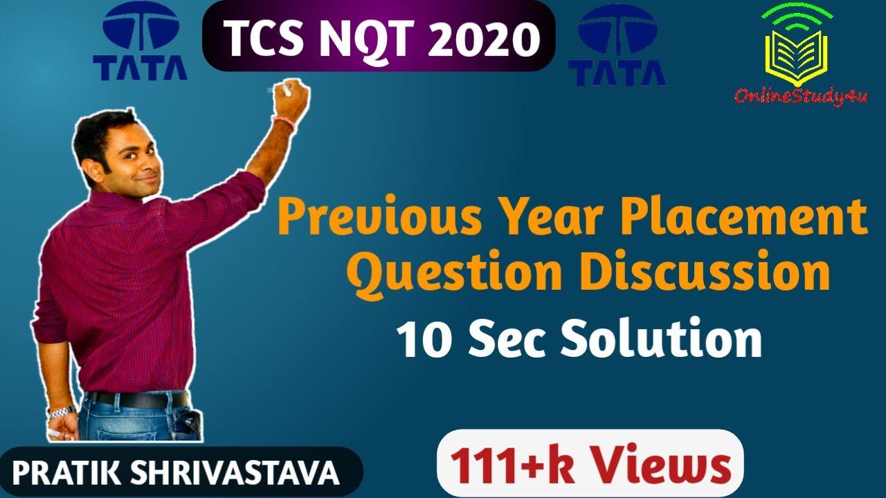 Tcs Nqt Question Paper