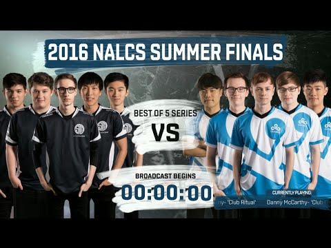 TSM vs Cloud 9 - Grand Finals full series (all Games) | LoL S6 NA LCS Summer 2016 | TSM vs C9