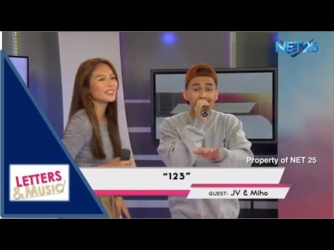 JV & MIHO  123 NET25 LETTERS AND MUSIC