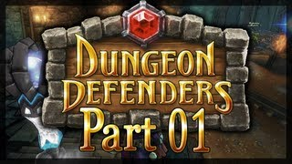 Lets Play Together - Dungeon Defenders #001 - Der Tiefe Schacht