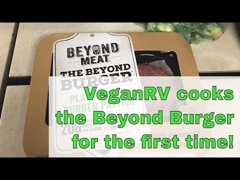 Grilling the Beyond Burger - vegan burger review